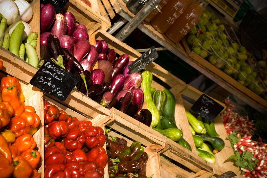 Le marché bio de Toulouse